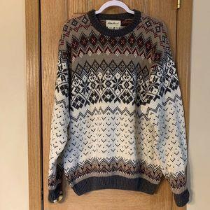 Vintage Eddie Bauer Fair Isle Sweater